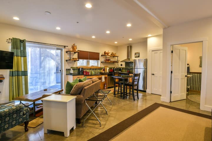 NEW LISTING: Sweet and Charming home with quick access to downtown Moab. Downstairs unit