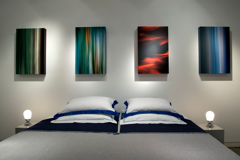 Modern Art Bedroom Art Gallery Apartment Apartments For Rent In Lisbon Lisbon