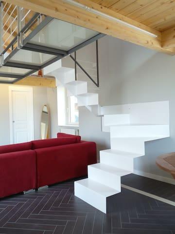Casa Baroggi - livello 2 + 3 - Maccagno - Appartement