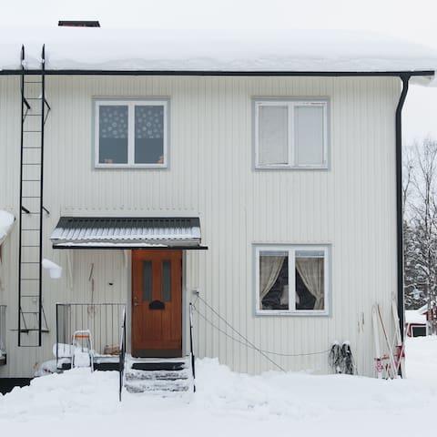 Lägenhet i natursköna Abborrträsk A