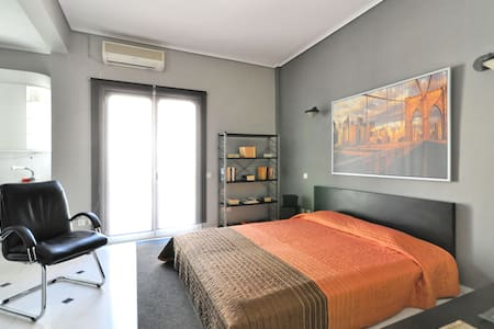 A Beautiful Studio Apt in Athens - 卡利地亚 - 公寓