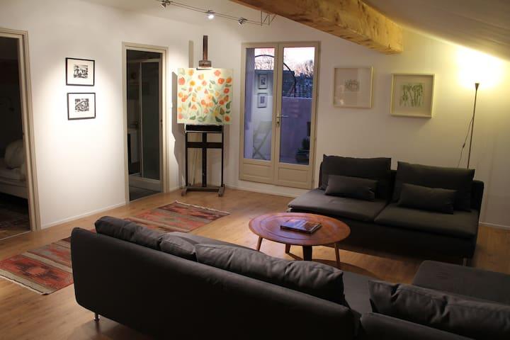 Family apartment at La Souqueto