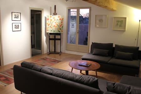 Family apartment at La Souqueto - Mirepeisset - Bed & Breakfast