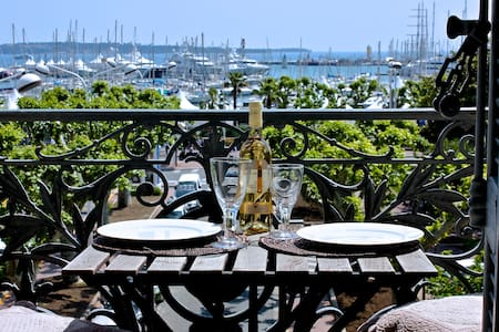 Luxury, central, sea view C2 - Cannes - Apartment