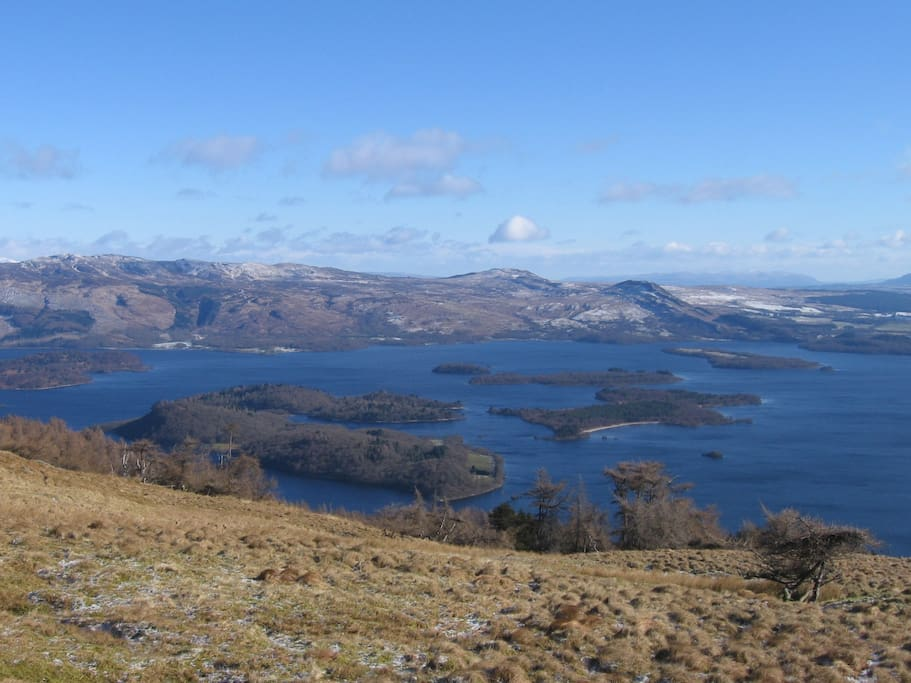 The islands on the Loch