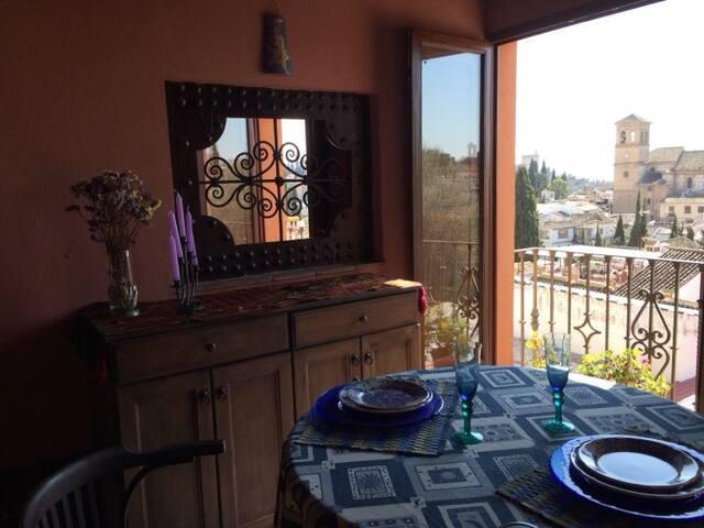 ROMANTICO APARTAMENTO EN ALBAYCIN  - Granada - Apartment