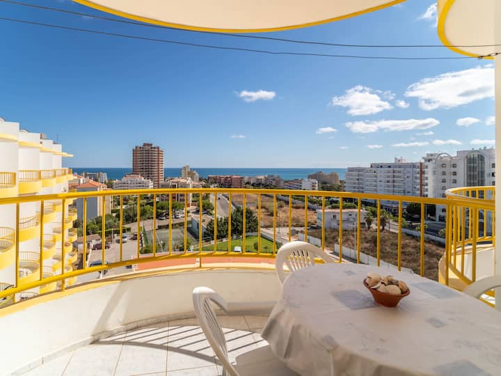 Holiday Apartment in  Praia da Rocha, sea view