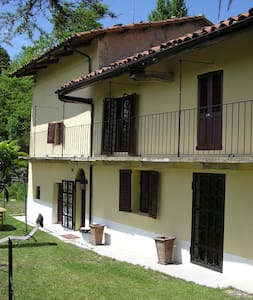 Traditional Piemonte house for rent - Bonvicino