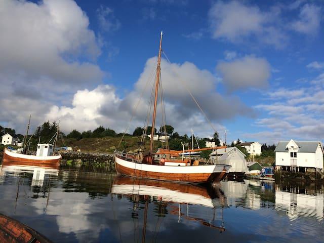 Hus ved sjøen - Hitra - Huis