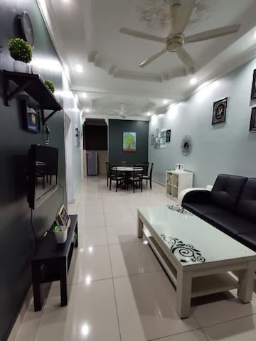 Living Hall and Dinning Hall