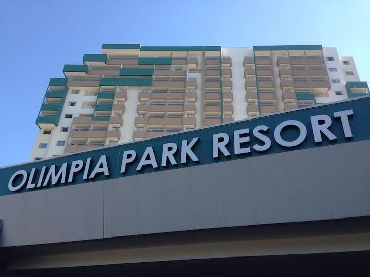 Olímpia Park Resort apartamento até 6 pessoas