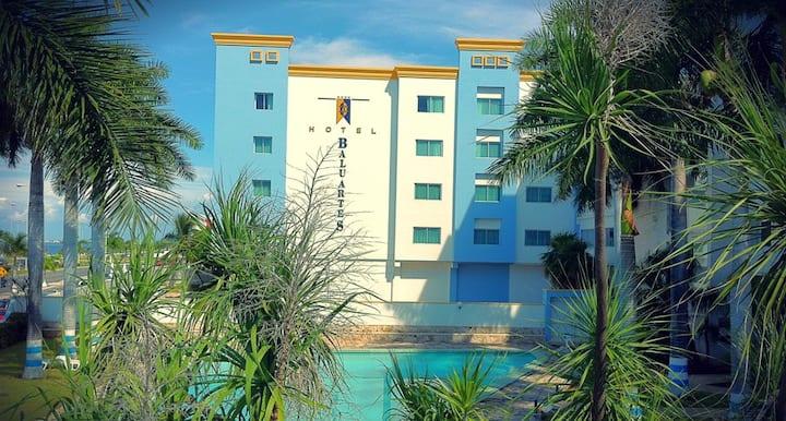 Habitación privada 3 interior Hotel Baluartes