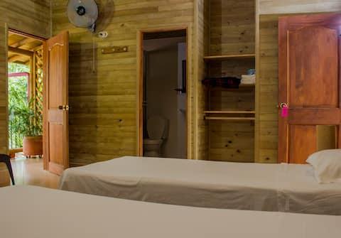 Hostería Miraflores - 1 cama doble