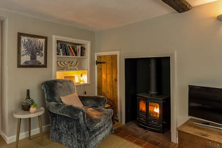 Idyllic rural cottage with use of pool (in summer) - East Knoyle - Huis