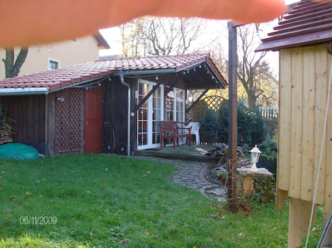 Rented small garden shed
