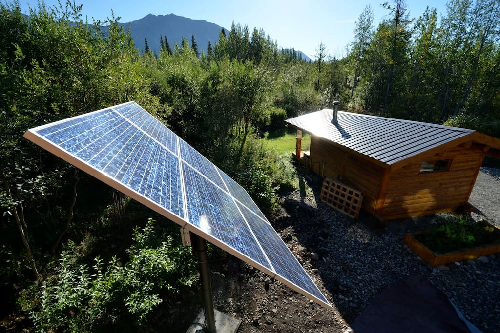we are solar powered!