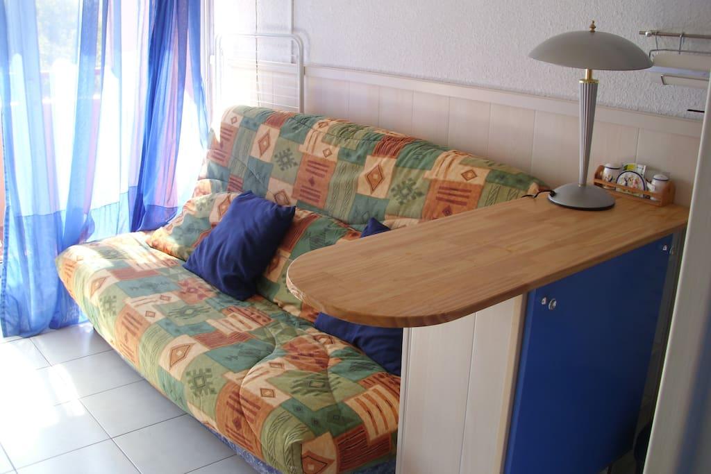 canapé dans séjour