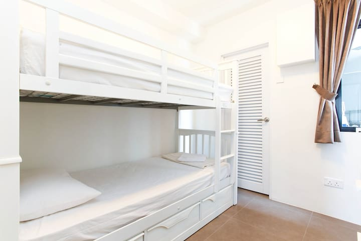 Bedroom 4 with bunk bed (two singles)