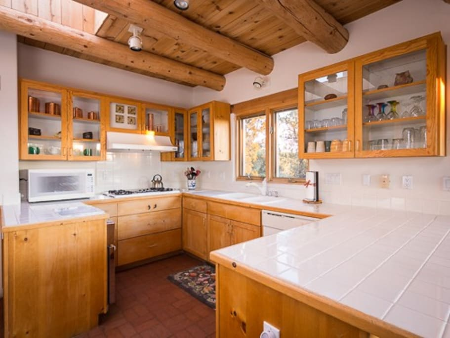 Full kitchen with all the amenities of home. Laundry room off kitchen.