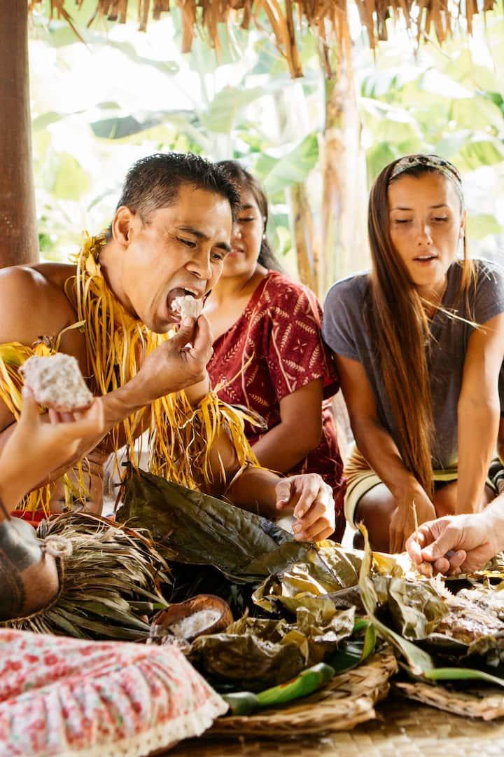 Enjoy authentic Polynesia food