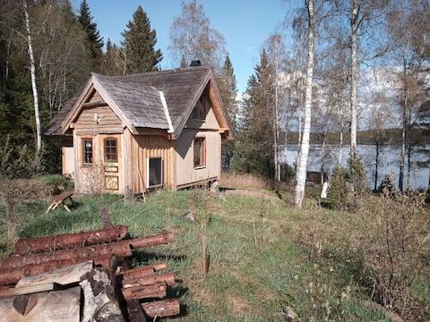 Handmade cabin all natural