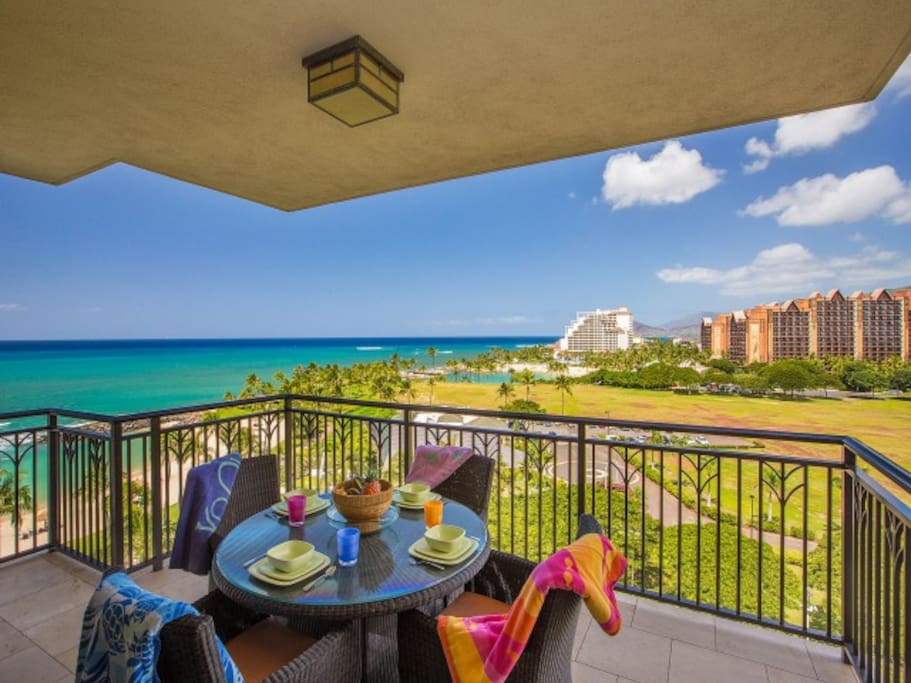 Relax on your lanai and enjoy the views!