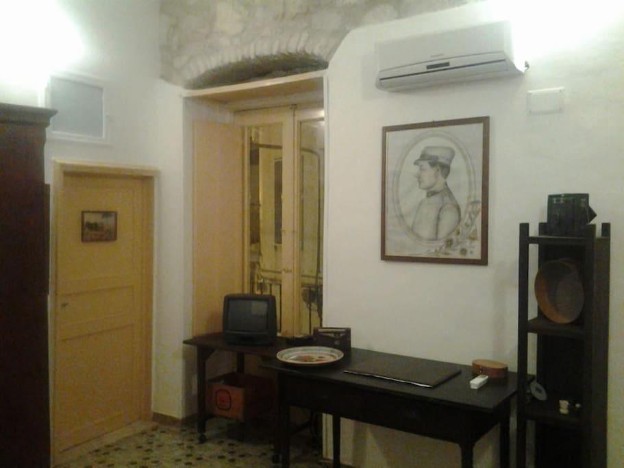 camera 1950 arredi originali del periodo