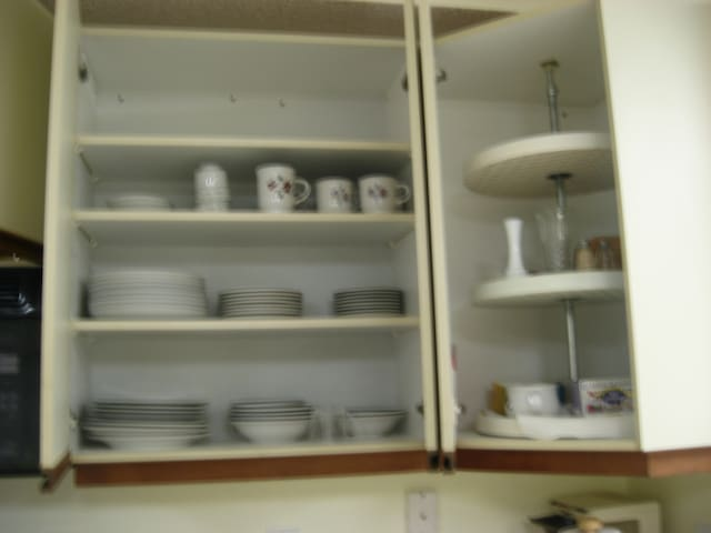 All dining and cooking utensils or vessels are already here and Double door pantry in the kitchen holds a ton of food