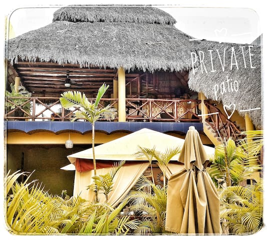 Mi Casa Linda B&B Palapa Suite Private BR+Patio