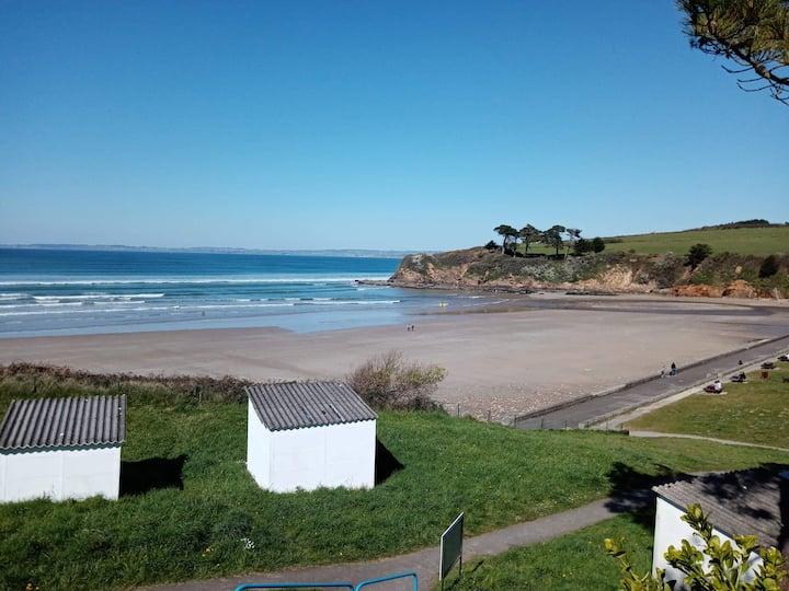 A louer maison néo bretonne entre terre et mer