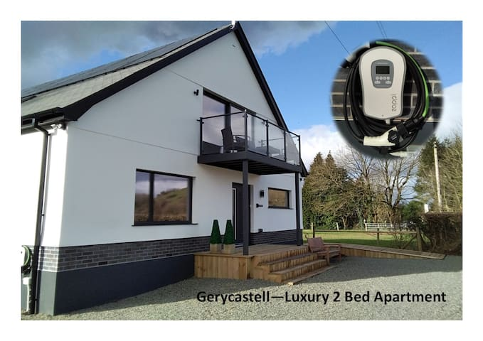 Luxury Apartment with stunning Views, EV Charger