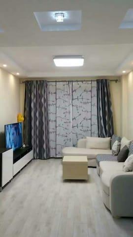 杭州湾旁的高档小区温馨的二居室可以停车 - Jiaxing Shi Zapu Zhen - Apartment