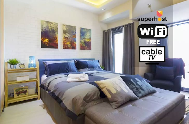 [HOT!] Trendy Greenbelt Hamilton Makati Condo WIFI