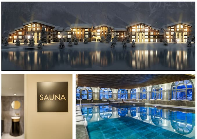 thedrus lux apt SPA, pool & more. Boost happiness!