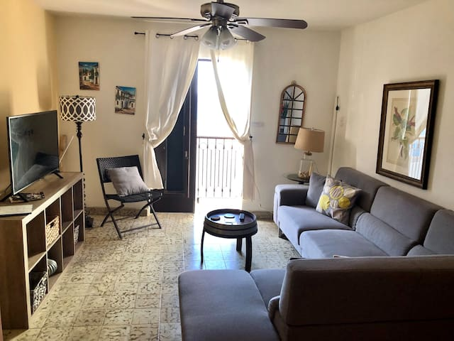 Charming 2 BD Ocean view Apt near Historic sites