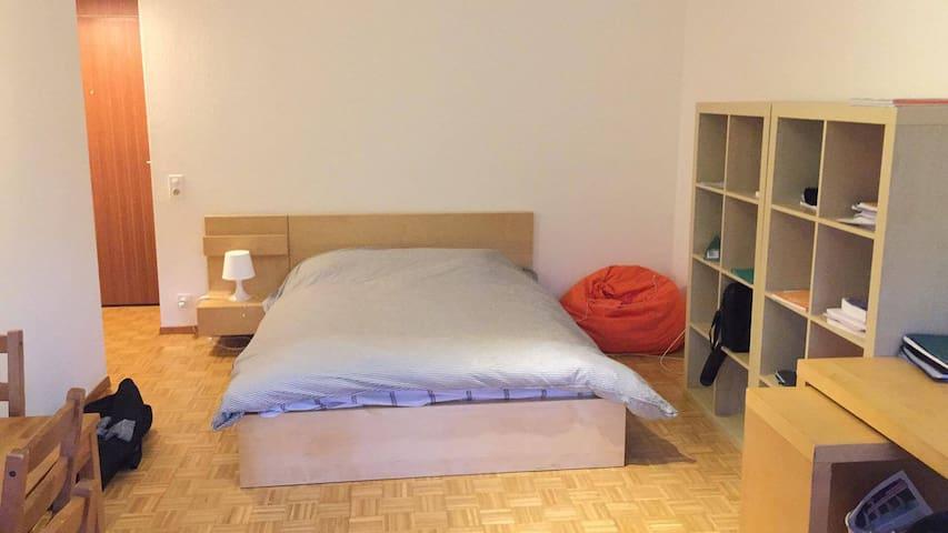 Apartment in UNIL-EPFL campus(10min from Lausanne) - Chavannes-près-Renens - Pension