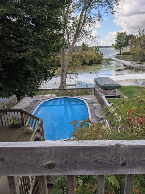 💎Lake House com piscina privativa, banheira de hidromassagem e cais❤️