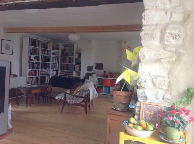 parfaite pour  enfants campagne Morbihan - Pleucadeuc - Rumah