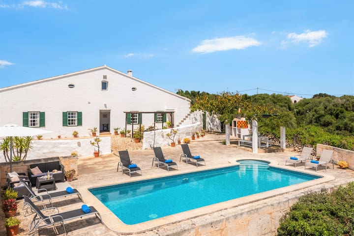 ❤ Beautiful Finca with seaview and private pool