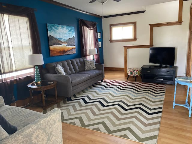 Inviting living room to make yourself at home.