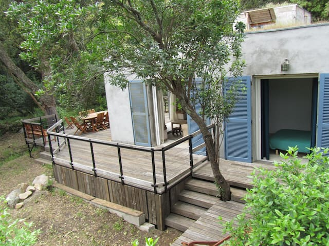 Maison entre plage et maquis - Sotta - Dom