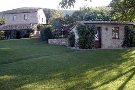 Restored farmhouse,spectacular view - Lugnano In Teverina