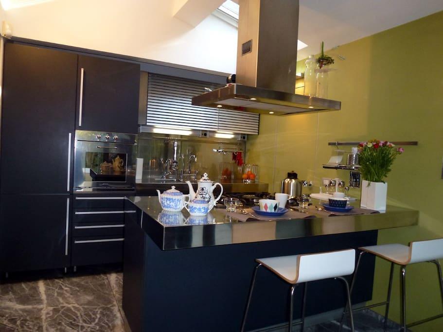 the Boffi kitchen