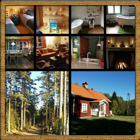 B&B in Småland,  ECO living!