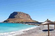 Monemvasia beach