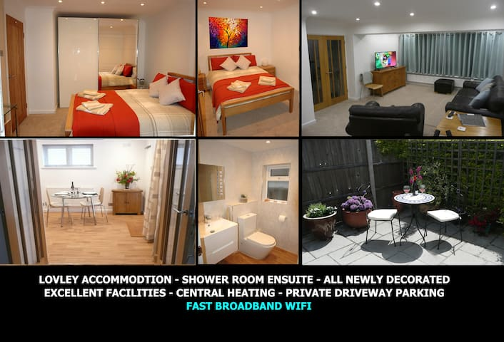 Lovely Accommodation - Double Bedroom & En-Suite
