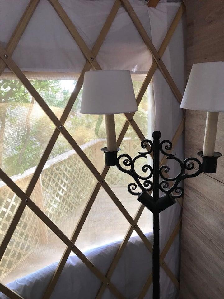L.stile Glamping yurt name RUJ