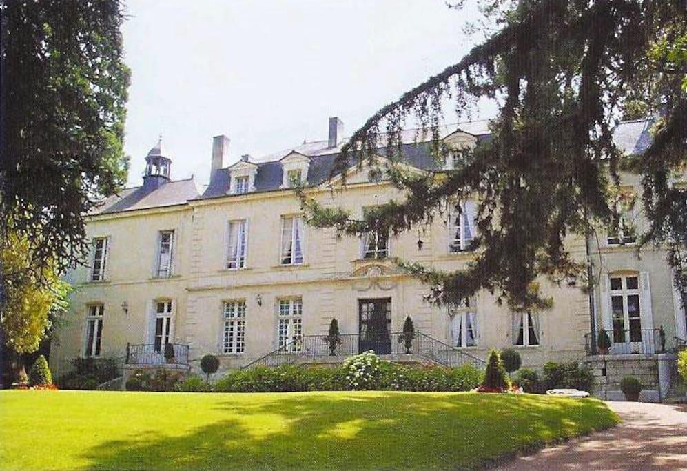Ch teau de beaulieu saumur chambres d 39 h tes louer for Chambre d hote chateau de la loire