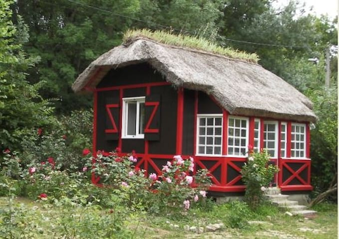Small cottage of 18m2 with mezzanin