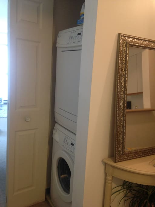 new washer and dryer unit